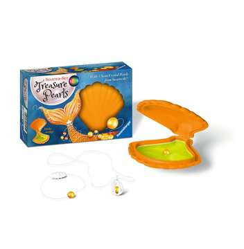 Treasure Pearls Neon Starter set arancio Creatività;Creare la Moda - immagine 2 - Ravensburger