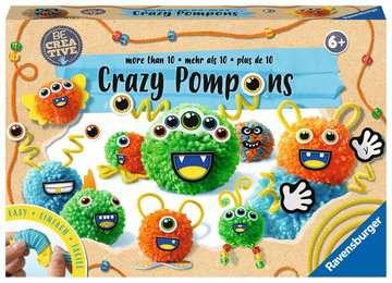 18118 Bastelsets Be Creative Crazy Pompons von Ravensburger 1