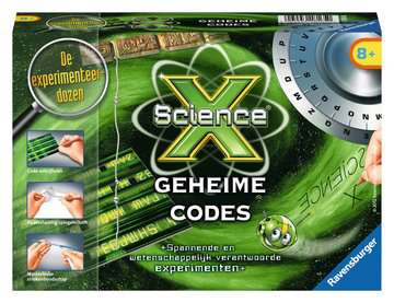 ScienceX® - Geheime codes Hobby;ScienceX® - image 1 - Ravensburger