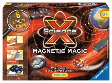 Science X®: Magnetic Magic Science Kits;ScienceX® - image 1 - Ravensburger