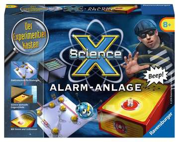 ScienceX Alarmanlage Experimentieren;ScienceX® - Bild 1 - Ravensburger