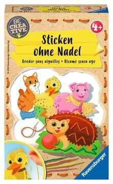 Sticken ohne Nadel Malen und Basteln;Bastelsets - Bild 1 - Ravensburger