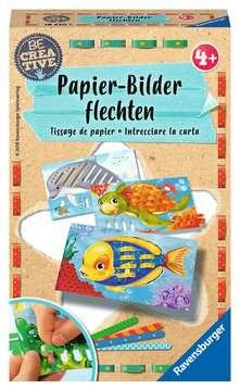 Papierflechten Malen und Basteln;Bastelsets - Bild 1 - Ravensburger