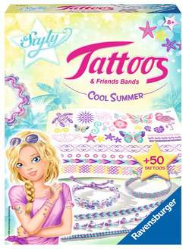 Tattoos & Friends Bands - Cool Summer Malen und Basteln;Bastelsets - Bild 1 - Ravensburger