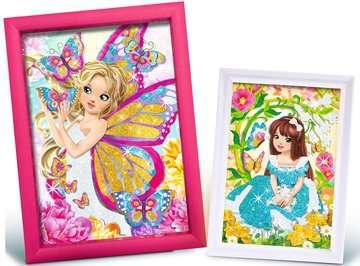 Tableaux scintillants papillons Loisirs créatifs;Création d objets - Image 4 - Ravensburger