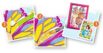 Tableaux scintillants papillons Loisirs créatifs;Création d objets - Image 5 - Ravensburger