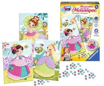 Ma première mosaïque Princesses Loisirs créatifs;Activités créatives - Image 3 - Ravensburger