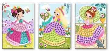 Ma première mosaïque Princesses Loisirs créatifs;Activités créatives - Image 5 - Ravensburger
