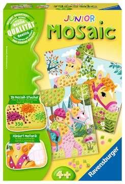 18341 Bastelsets Mosaic Junior Horses von Ravensburger 1