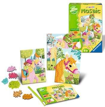 Junior Mosaic Pony Creatività;Per i più piccoli - immagine 2 - Ravensburger
