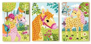 Junior Mosaic Pony Creatività;Per i più piccoli - immagine 3 - Ravensburger
