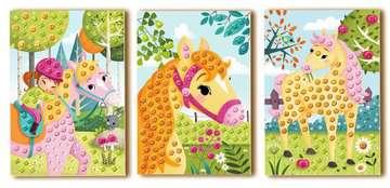 18341 Bastelsets Mosaic Junior Horses von Ravensburger 3