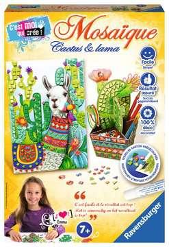 Mosaïque Cactus et Lama Loisirs créatifs;Création d objets - Image 1 - Ravensburger