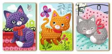 18353 Bastelsets Mosaic Junior: Cats von Ravensburger 3