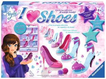 I love Shoes Creatività;I love shoes - immagine 1 - Ravensburger