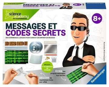 Messages et codes secrets Jeux scientifiques;Technologie - Image 1 - Ravensburger