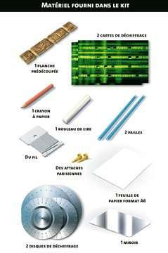 Messages et codes secrets Jeux scientifiques;Technologie - Image 2 - Ravensburger