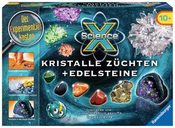ScienceX Kristalle züchten + Edelsteine Experimentieren;ScienceX® - Bild 1 - Ravensburger