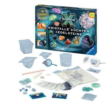 ScienceX Kristalle züchten + Edelsteine Experimentieren;ScienceX® - Bild 2 - Ravensburger