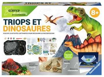 Triops et Dinosaures Jeux scientifiques;Préhistoire-Dinosaures - Image 1 - Ravensburger