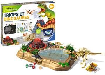 Triops et Dinosaures Jeux scientifiques;Préhistoire-Dinosaures - Image 2 - Ravensburger