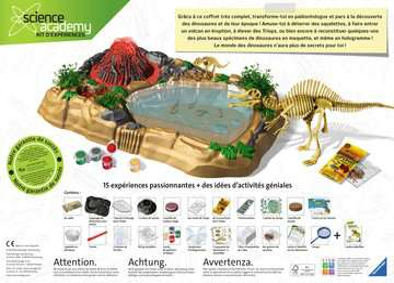 Triops et Dinosaures Jeux scientifiques;Préhistoire-Dinosaures - Image 10 - Ravensburger