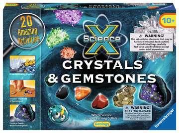 Science X®: Crystals & Gemstones Science Kits;ScienceX® - image 1 - Ravensburger