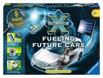 Science X®: Fueling Future Cars Science Kits;ScienceX® - image 1 - Ravensburger