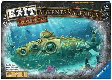 18955 Familienspiele EXIT Adventskalender - Das gesunkene U-Boot von Ravensburger 1