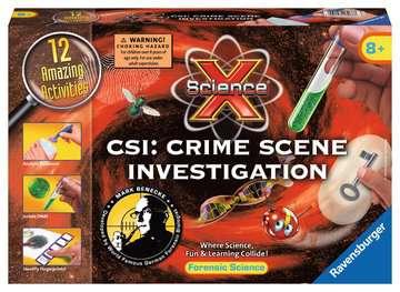 Science X®: CSI Crime Scene Investigation Science Kits;ScienceX® - image 1 - Ravensburger