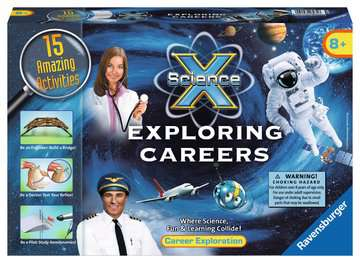 Science X®: Exploring Careers Science Kits;ScienceX® - image 1 - Ravensburger