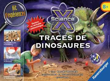 Midi-Traces de dinosaures Jeux scientifiques;Préhistoire-Dinosaures - Image 1 - Ravensburger
