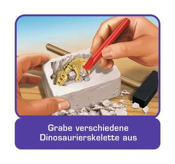 ScienceX Spuren der Dinosaurier Experimentieren;ScienceX® - Bild 4 - Ravensburger