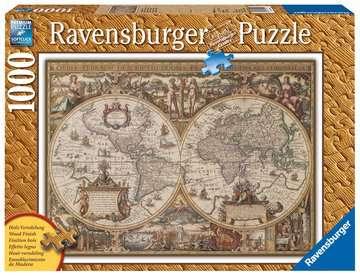 19004 Erwachsenenpuzzle Antike Weltkarte von Ravensburger 1
