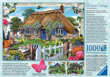 Country Cottage Collection, Wisteria Cottage, 1000pc Puzzles;Adult Puzzles - image 3 - Ravensburger