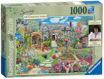 Gardening World – Spring, 1000pc Puzzles;Adult Puzzles - image 1 - Ravensburger