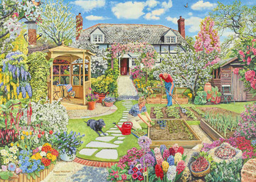 Gardening World – Spring, 1000pc Puzzles;Adult Puzzles - image 2 - Ravensburger