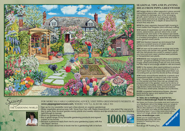 Gardening World – Spring, 1000pc Puzzles;Adult Puzzles - image 3 - Ravensburger