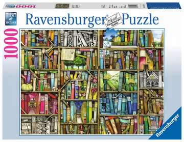 NIEZWYKŁA KSIĘGARNIA 1000EL Puzzle;Puzzle dla dorosłych - Zdjęcie 1 - Ravensburger