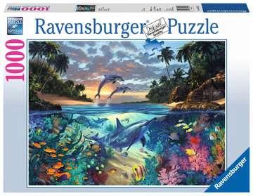 Puzzle 1000 p - Baie de coraux Puzzles;Puzzles pour adultes - Image 1 - Ravensburger