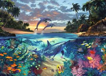 Coral Bay Jigsaw Puzzles;Adult Puzzles - image 2 - Ravensburger