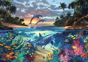 Puzzle 1000 p - Baie de coraux Puzzles;Puzzles pour adultes - Image 2 - Ravensburger