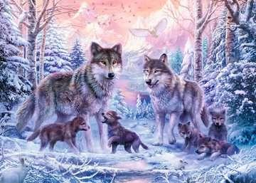 Puzzle 1000 p - Loups arctiques Puzzle;Puzzle adulte - Image 2 - Ravensburger