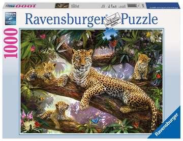 DUMNA MATKA LEPARDA 1000ELE Puzzle;Puzzle dla dorosłych - Zdjęcie 1 - Ravensburger