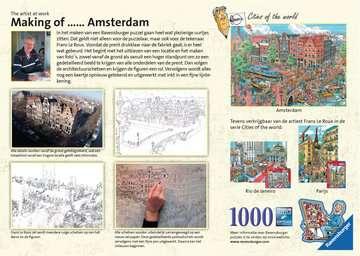 Amsterdam, 1000pc Puslespil;Puslespil for voksne - Billede 2 - Ravensburger