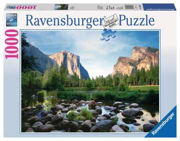 Yosemite Valley Jigsaw Puzzles;Adult Puzzles - image 1 - Ravensburger