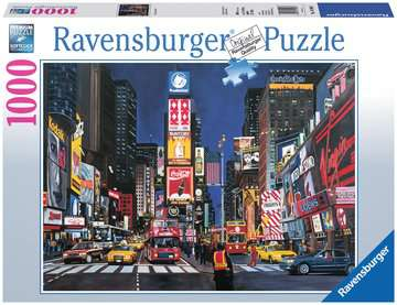 Times Square, NYC Jigsaw Puzzles;Adult Puzzles - image 1 - Ravensburger