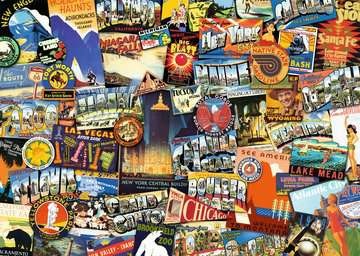 Road Trip USA Jigsaw Puzzles;Adult Puzzles - image 2 - Ravensburger