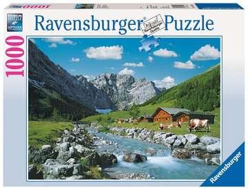 Karwendelgebirge, Österreich Puzzle;Erwachsenenpuzzle - Bild 1 - Ravensburger