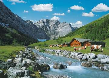 19216 Erwachsenenpuzzle Karwendelgebirge, Österreich von Ravensburger 2